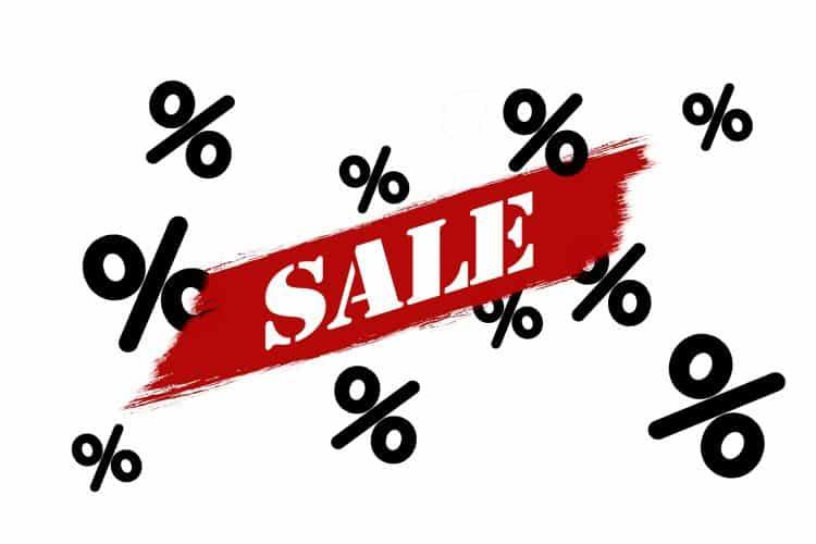 tilbud fra butikker