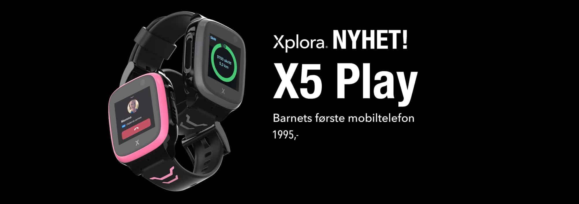Xplora - komplett mobiltelefon
