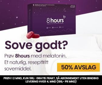 Melatonin er kroppens eget søvnhormon